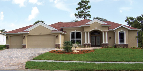The Grand Bahama Estate Model Home