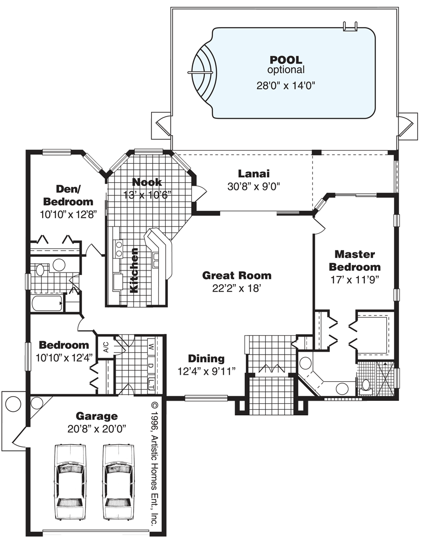 The Versailles II Floorplan